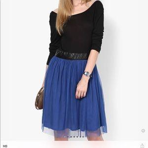 Dresses & Skirts - Blue Colored Solid Shift Dress